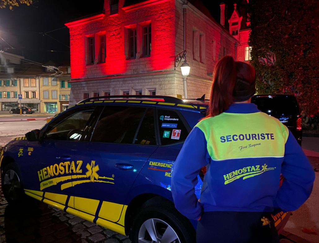 HEMOSTAZ ⎮ Patrouille pédestre dans la ville de Lausanne