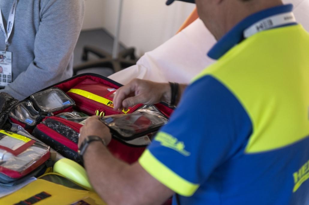 HEMOSTAZ ⎮ Matériel médical sac de premiers secours