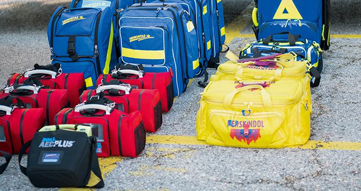 HEMOSTAZ ⎮ Matériel médical différents sacs de secours