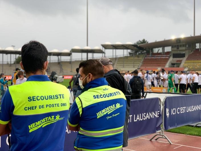 HEMOSTAZ ⎮ Match de foot du Lausanne Sport