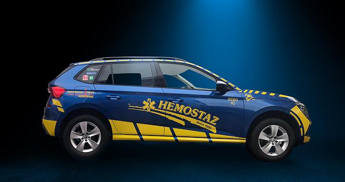 HEMOSTAZ ⎮ Notre voiture VTP