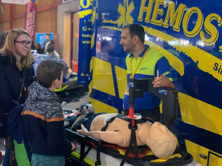 HEMOSTAZ ⎮ Matériel médical stand au salon Planète Santé