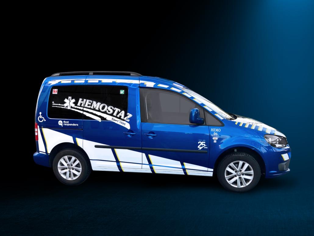 HEMOSTAZ ⎮ Véhicule pour le service de transport de personnes à mobilité réduite